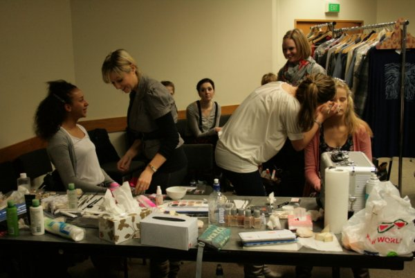 The makeup team - Pagan Banfield